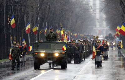 Parada Militara organizata cu ocazia Zilei Nationale a Romaniei, in Bucuresti, miercuri, 1 decembrie 2010. ANDREI ALEX MOISE / MEDIAFAX FOTO