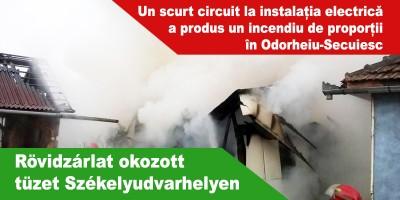Rövidzárlat-okozott-tüzet-Székelyudvarhelyen