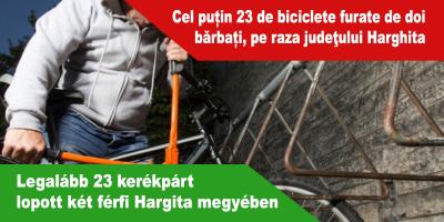 Legalább-23-kerékpárt-lopott-két-férfi-Hargita-megyében