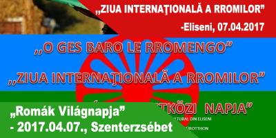 """""""Romák-Világnapja""""--2017.04.07.,-Szenterzsébet"""