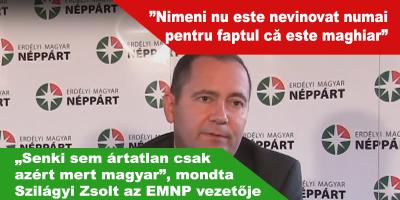 """""""Senki-sem-ártatlan-csak-azért-mert-magyar"""",-mondta-Szilágyi-Zsolt-az-EMNP-vezetője"""