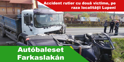 Autóbaleset-Farkaslakán