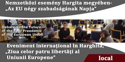 """Nemzetközi-esemény-Hargita-megyében--""""Az-EU-négy-szabadságának-Napja"""""""
