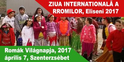 Romák-Világnapja,-2017-április-7,-Szenterzsébet