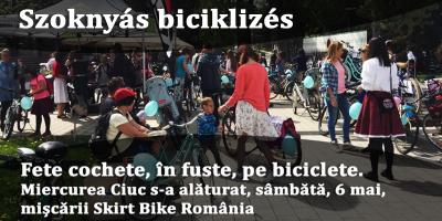 Szoknyás-biciklizés