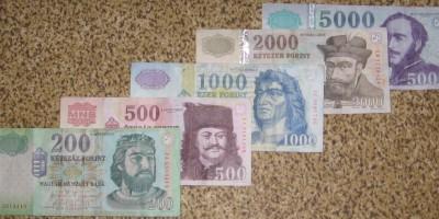 Forint-200-500-1000-2000-5000