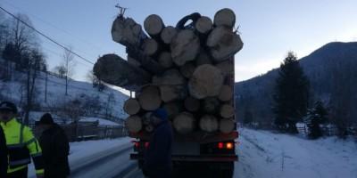 garda-forestieră-camion-lemn-1