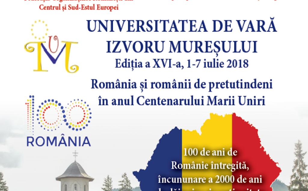 Imagini pentru Universitatea de Vară de la Izvoru-Mureșului 2018