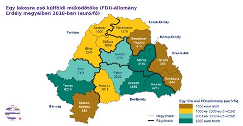 Investiții străine directe (ISD) în Transilvania (sursa: Transilvania)