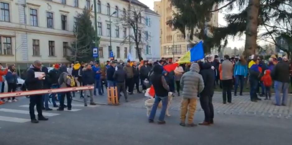 PROTESTE JUDEȚUL BRAȘOV